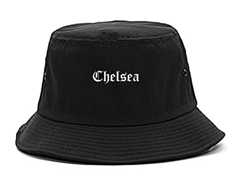 Kings Of NY Chelsea City Alabama AL Bucket Hat Cap Black at Amazon ... 6692683bfdd