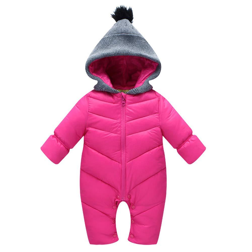 Fairy Baby Newborn Baby Unisex Winter Warm Romper Outwear Thick Jumpsuit Snowsuit