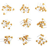 ILS - 20pF - 1uF 180 pieces 18 Values Leaded Multilayer / Monolithic Ceramic Capacitor Assorted Kit 10 pieces Each Value
