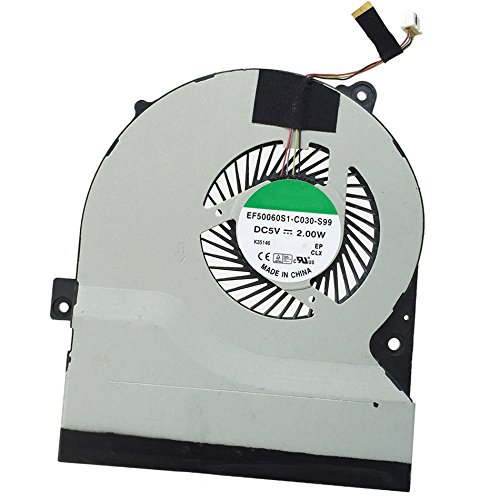Tebuyus Replacement Laptop CPU Cooling Fan For S56 S550CM S56CA S56CB K56 Notebook Fan 4 Pin