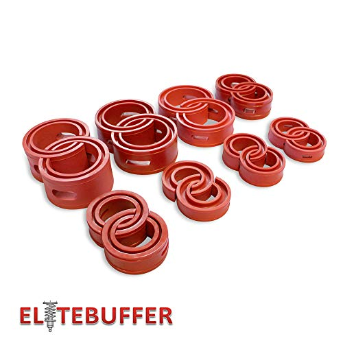 EliteBuffer Front-Rear automobile coil spring buffer/booster/performance upgrade