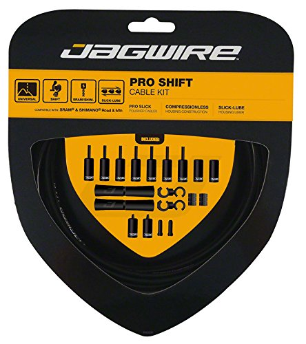 Jagwire Pro Shift Cable Kit Black, One Size