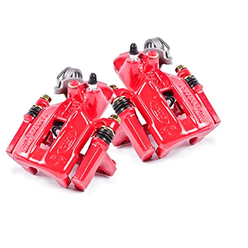 erformance Grade Red Powder Coated Semi-Loaded Caliper Assembly Pair Set (Cobra Rear Caliper)