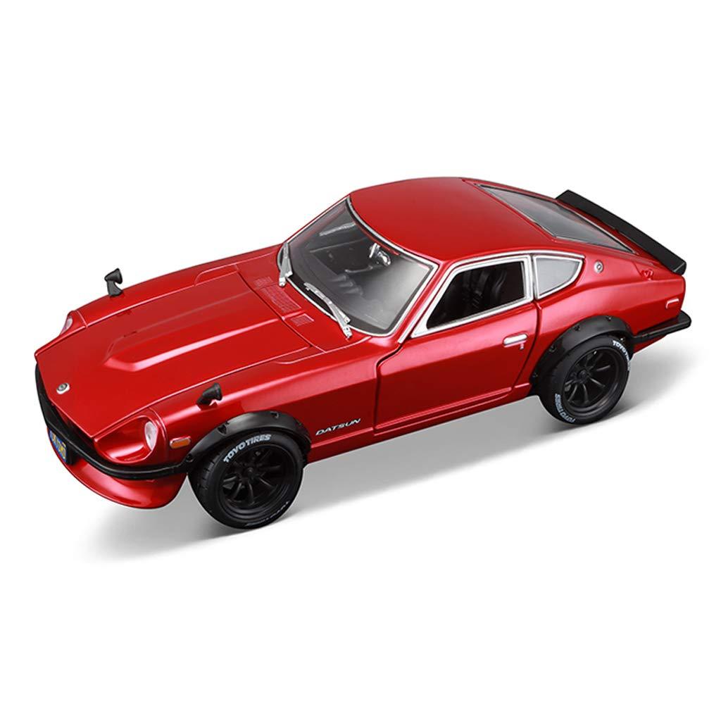 IAIZI 古典的なスポーツカーアロイカーモデル、シミュレーションコレクション比率1:18スケール日産1971年ダットサン240Z B07RSP7LV5