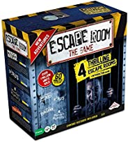 Escape Room The Game, Version 2 - with 4 Thrilling Escape Rooms   Solve The Mystery Board Game for Adults and