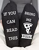 If You Can Read This Bring Me Pizza Socks Funny Birthday Gift