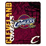 Officially Licensed NBA Cleveland Cavaliers Hard Knocks Printed Fleece Throw Blanket, 50' x 60'
