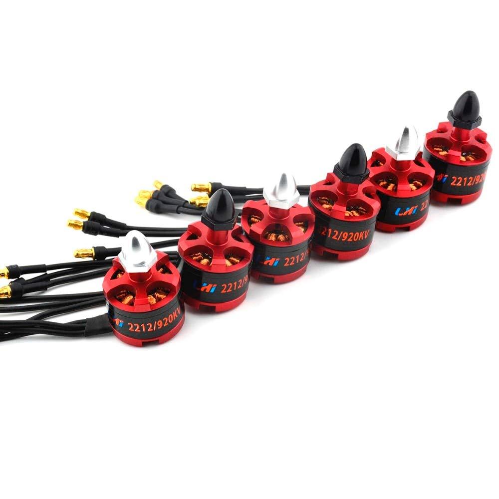 2PCS N2830 800KV 1000KV 1300KV External redor brushless Motor A2212 4 axis for multicopter Drones   800KV