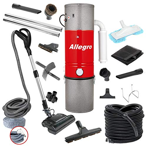 Best Prices! Allegro MU4500 Champion - 6,000 Square Foot Home Central Vacuum System 35 Foot Electric...