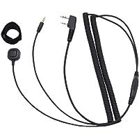 Meisijia Bluetooth pour Casque spécial Connexion Remplacement du câble pour Kenwood Baofeng UV-5R UV-82 GT-3 Two Way Radio