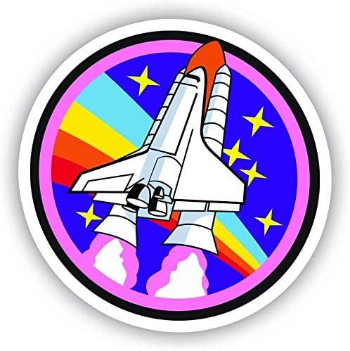 Window Truck Car Vinyl Bumper Sticker Decal 5 Spaceship Space Vinyl Decal Sticker