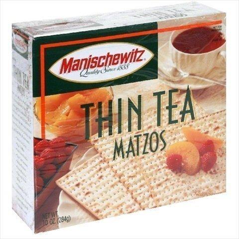 Manischewitz Cracker Matzo Tea Thin (Matzo Thins)