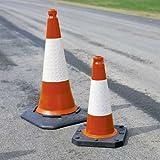 Traffic Cone TC1 50cm Highway Grade Reflective Sl