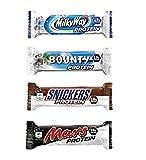 Milky Way, Mars, Snickers, Bounty Protein Bars (Mixed Box) (12)