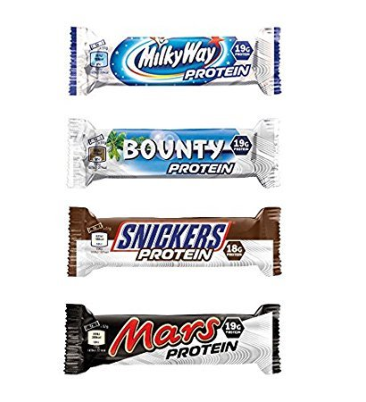 Milky Way, Mars, Snickers, Bounty Protein Bars (Mixed Box) (12) by Mars Protein
