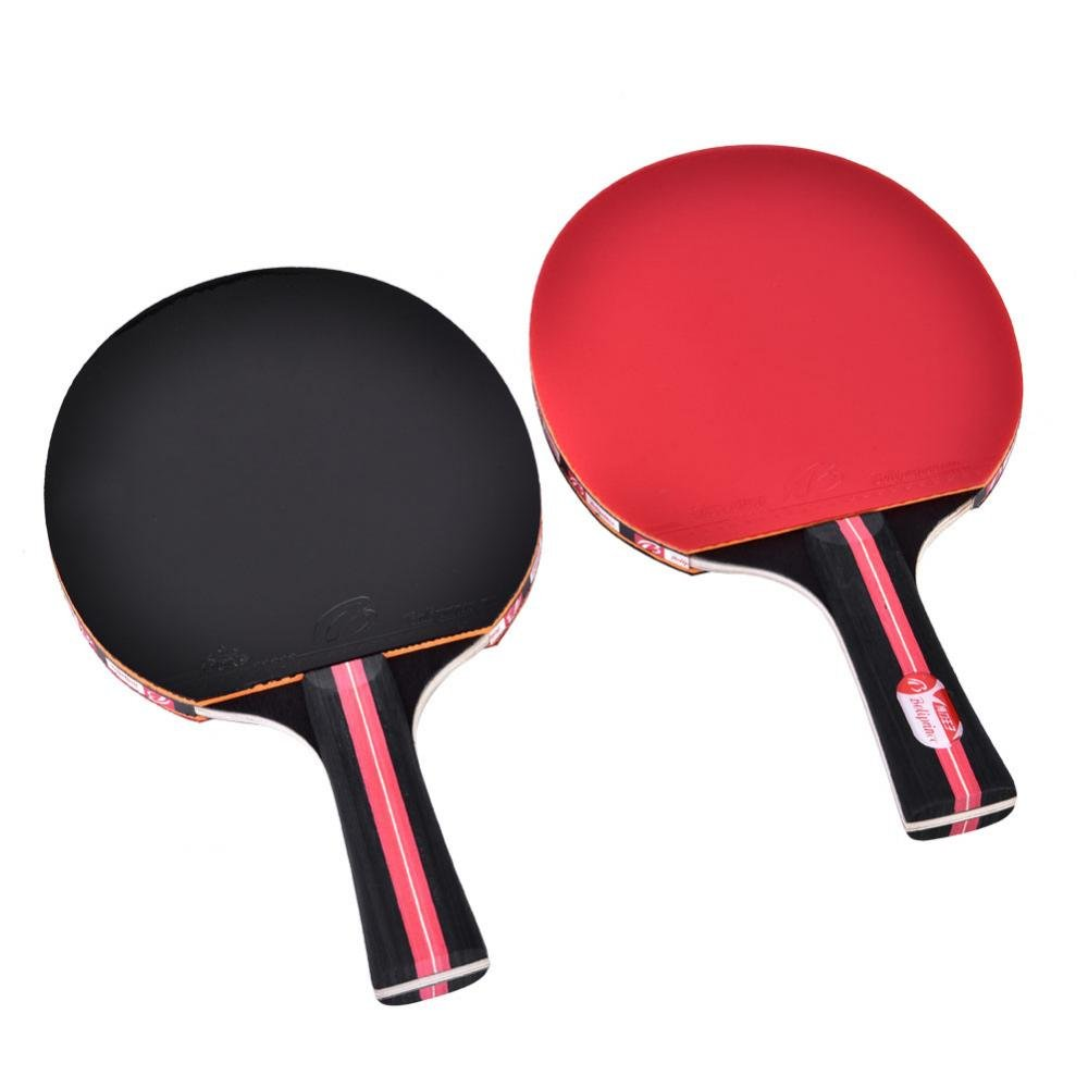 1 Pair Table Tennis Rackets, Professional Advanced Training Ping Pong Paddles(Penhold) VGEBY