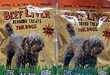 2 Pack Trader Joe's Beef Liver Begging Treats for Dogs For Sale
