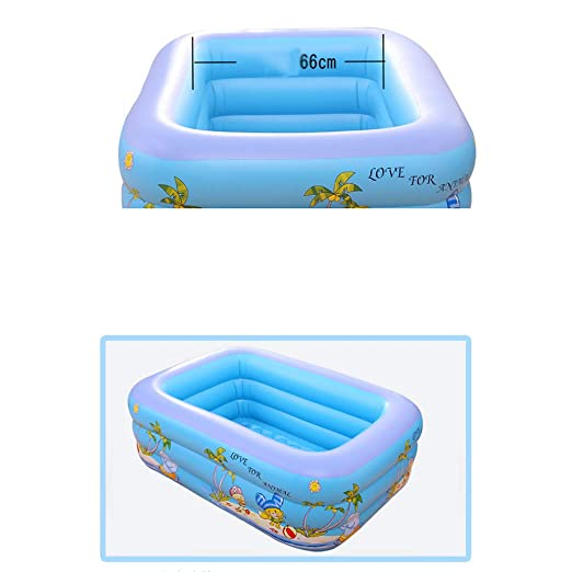 Godme-Baby pool Piscina Hinchable Rectangular, Piscina ...