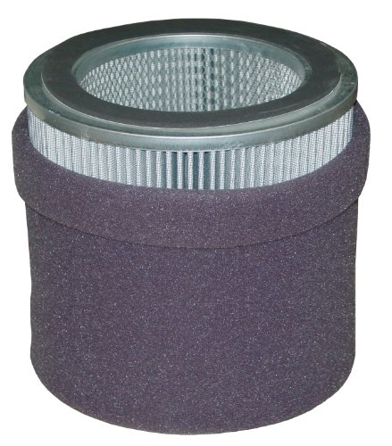 Solberg 375P Polyester Filter Element, 14-1/2'' Height, 8'' Inner Diameter, 11-3/4'' Outer Diameter, 1500 SCFM by Solberg
