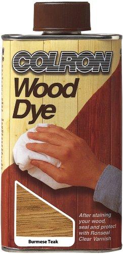 Ronseal Cwdbt250 250ml Colron Wood Dye Burmese Teak