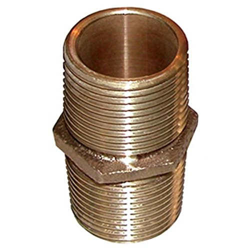 Groco Bronze Pipe Nipple 1-1/2'' PN-1500 by Groco