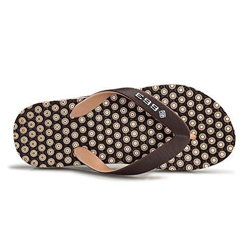 da Marrone Pantofola 42 Classic 2018 da EU uomo Dimensione da infradito spiaggia Marrone uomo per sandali Scarpe Color YApwqRB