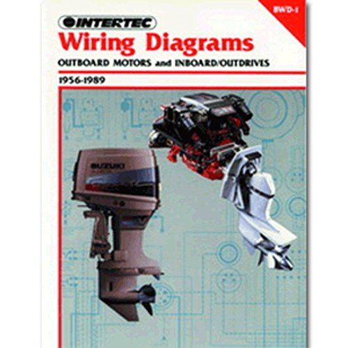 Clymer Wiring Diagrams Outboard Motors and Inboard/Outdrives (1956-1989) consumer electronics Electronics (Evinrude Outboard Diagrams)