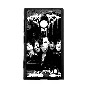 Generic Personalized Black Veil Brides BVB New Fashion Music Band Protective 100% Plastic Hard Case for Nokia Lumia 520