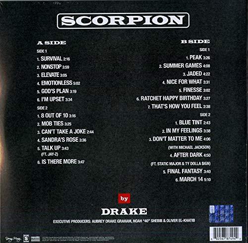 Drake - Scorpion [2 LP] - Amazon com Music