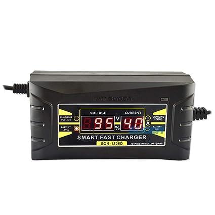 12V cargador de batería multi amp mantenedor portátil auto goteo ...