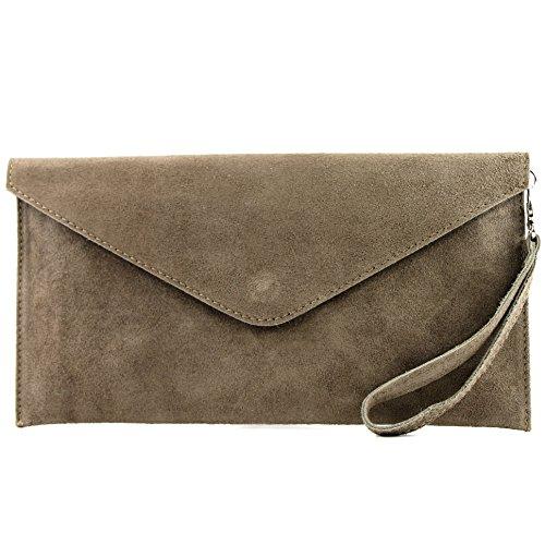 bag Leather T106 de Clutch bag Wrist ital Stone Underarm bag bag bag Shoulder Wild Evening handcuffs modamoda leather aq0wExBwA