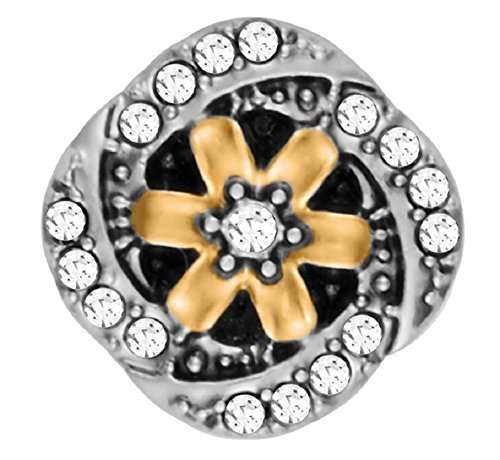 (Ginger Snaps PETITE Midsummer (Simulated) Gold Mix GP15-57 Interchangeable Jewelry)