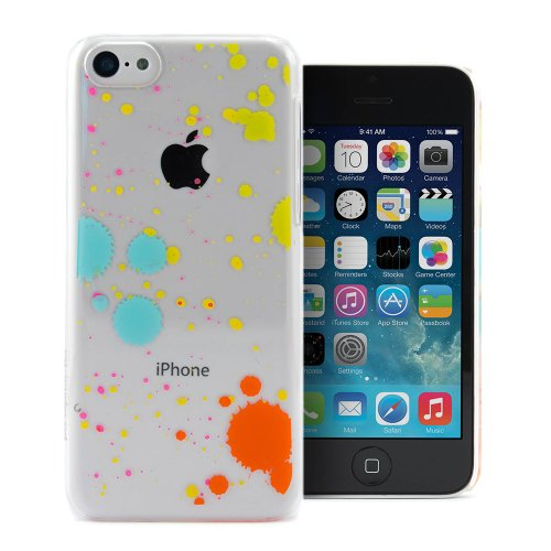 Proporta IPhone 5C Skin Cover Case ? Splatter Paint Multi