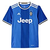 adidas AI6228 Juventus Away Youth Replica Player Jersey 1 Vivid Blue/Victory Blue/White L/G