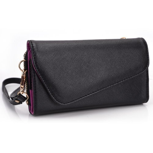 Price comparison product image BenQ T47 - Purple Cellphone carrying clutch/wristlet for ladies