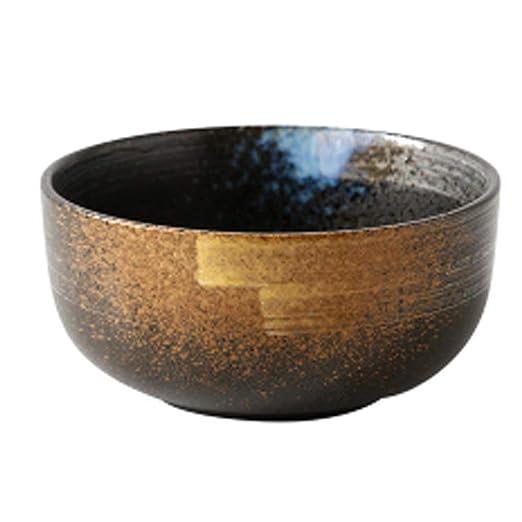 JACKJO Sopa de cerámica Japonesa tazón de Ramen Ensalada de Fruta ...