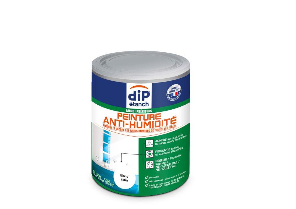 Peinture Anti-Humidité , Dip é tanch - Gris Perle Satin, 0,75L Dip étanch - Gris Perle Satin PPG