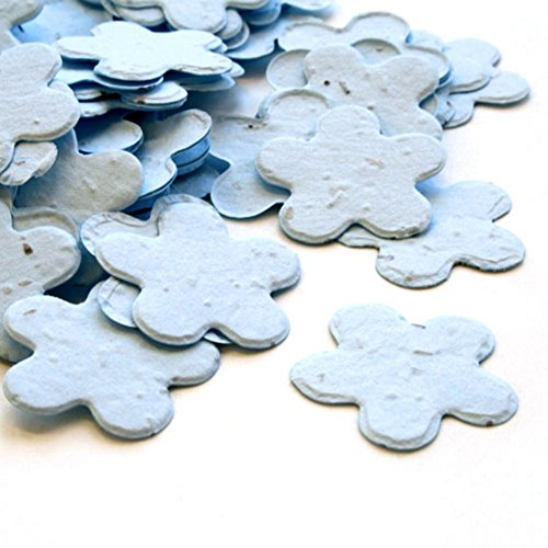 Blue 5-Petal Plantable Seed Confetti (Approx. 350 pieces)