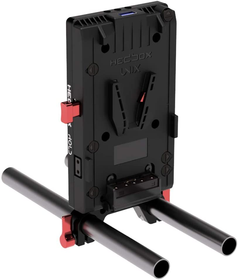 HEDBOX Hold System Complete Set of Battery Mounting Cheese Plate with 15mm Rod Clamp