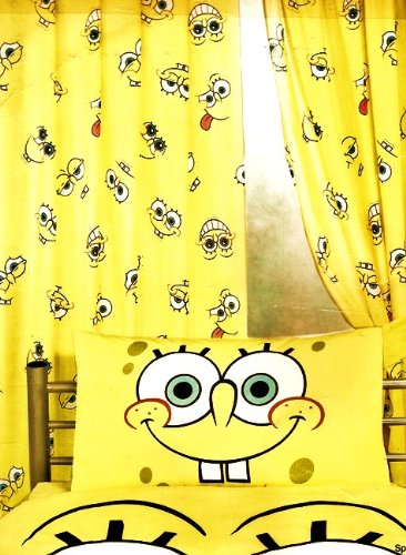 Spongebob Squarepants Expressions Curtains 72quot