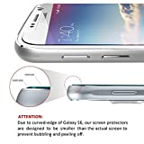 [2 Pack] iVoler [Tempered Glass] Screen Protector for Samsung Galaxy S6, [0.2mm Ultra Thin 9H Hardness 2.5D Round Edge] with Lifetime Replacement Warranty