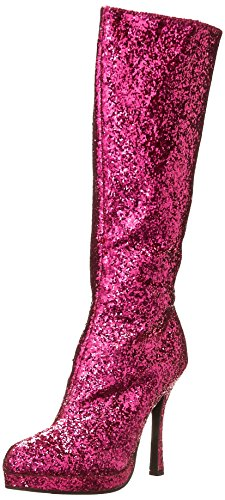 Ellie Shoes Women's 421-Zara Boot, Fuchsia, 8 M ()