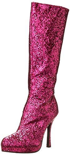 Ellie Shoes Women's 421-Zara Boot, Fuchsia, 9 M US
