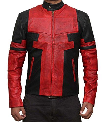 Ryan Reynolds Deadpool Costume (BlingSoul Marvel Ryan Reynolds Jacket Costume - Deadpool Costume Jacket For Mens (XS))
