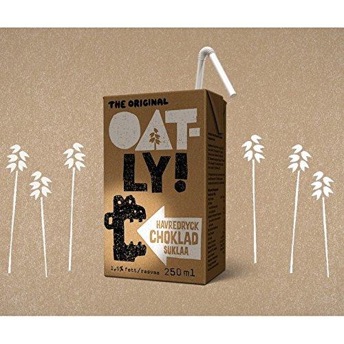 Oatly - Bebida de Avena y Chocolate - Pack de 18 (18 x 25 centilitros): Amazon.es: Alimentación y bebidas