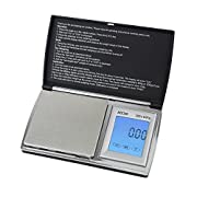 Amazon Lightning Deal 63% claimed: Smart Weigh ACC200 AccuStar Digital Back-Lit Touch Screen Pocket Scale, Black