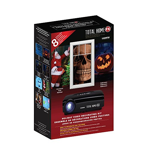 Total HomeFX PLUS Digital Projector Decorating Kit, HDMI Capable - Fx Halloween