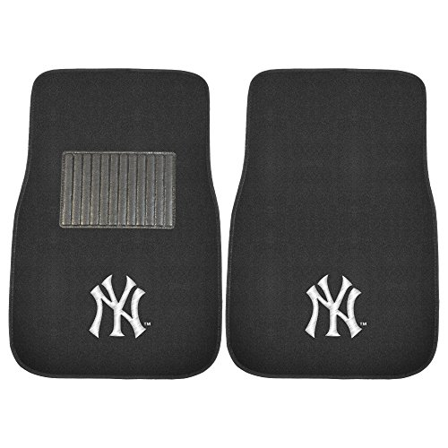 FANMATS 10740 MLB New York Yankees Embroidered Car Mat