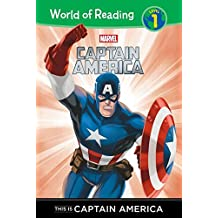 This Is Captain America (Captain America: World of Reading, Level 1)