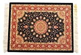 Beautiful Persian Rug Mouse Pad, Office Decor Desktop Oriental Rug, Computer Mousepad, Persian Desk Rug Coaster Mouse Pad